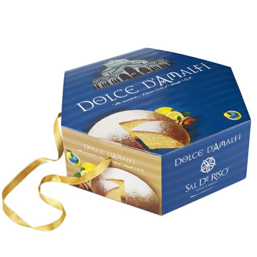 Dolce d'Amalfi cake with Lemons I.G.P. and Almond