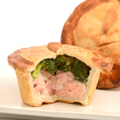 Summer Isles Salmon Pie