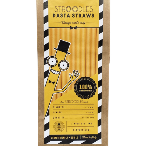 SAMPLES STROODLES - PASTA DRINKING STRAWS (4 pcs)