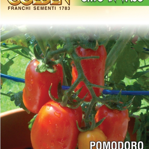 Franchi Tomato San Marzano of Naples Dwarf - Endangered Variety