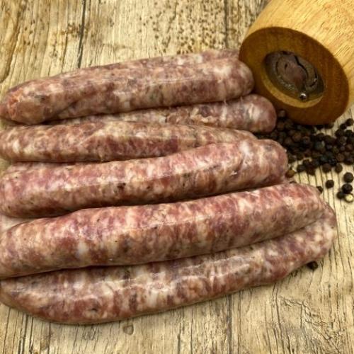 Black Pepper Sausages
