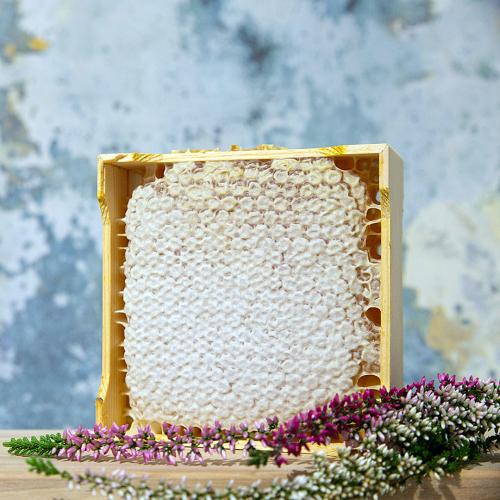 Scottish Heather Honeycomb Section