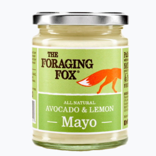 The Foraging Fox Avocado & Lemon Mayo (6 x 240g) Retail Jar