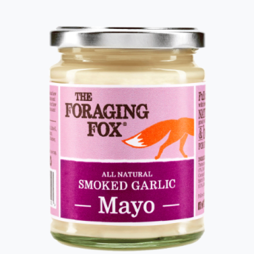 The Foraging Fox Smoked Garlic Mayo (6 x 240g) Retail Jar