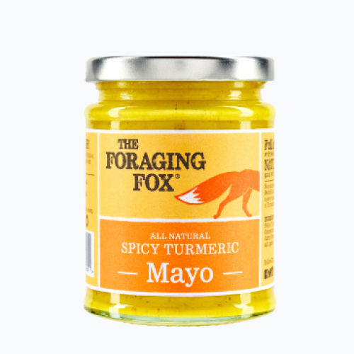 The Foraging Fox Spicy Turmeric Mayo (6 x 240g) Retail Jar