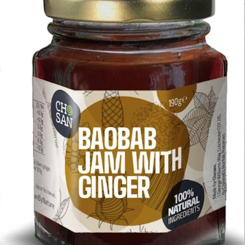 Baobab Jam with Ginger