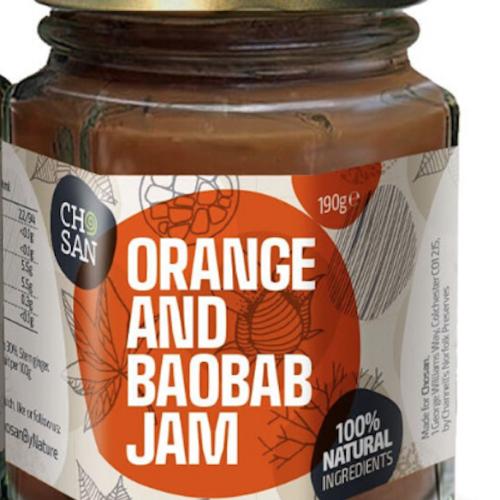 Orange and Baobab Jam