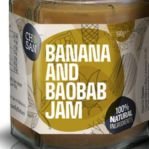 Banana and Baobab Jam