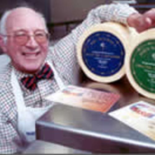 Mrs Bourne's mini Whole Cheshire Cheese