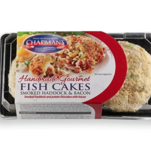 Smoked Haddock & Smoked Bacon Fish Cakes