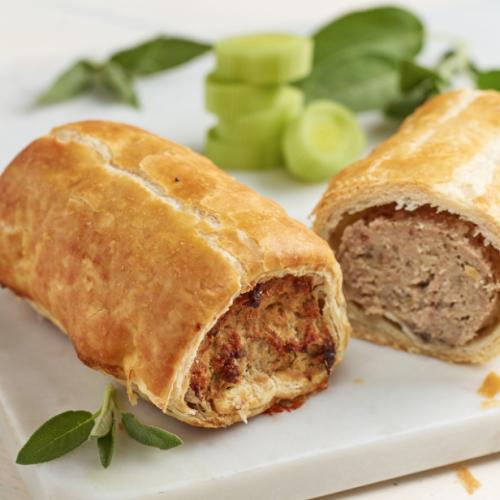 Pork, Leek & Sage Sausage Roll (frozen)