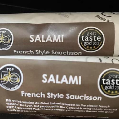 French Sauccison Salami