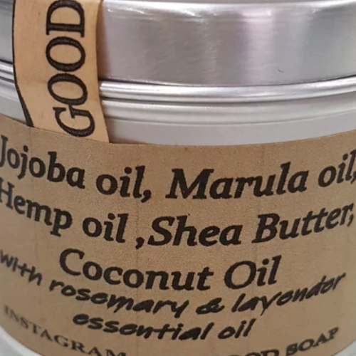 Body Butter Jojoba,Marula & Hemp 100g