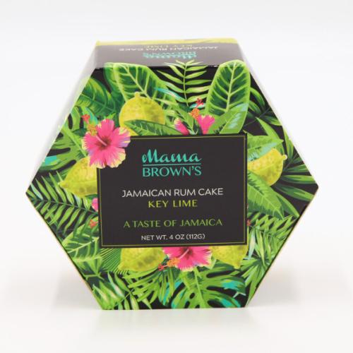 3 Pack Mama Brown's Jamaican Rum Cake Key Lime