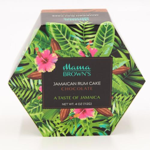 3 Pack Mama Brown's Jamaican Rum Cake Chocolate