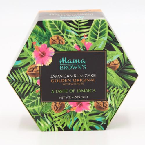 3 Pack Mama Brown's Jamaican Rum Cake Golden Original