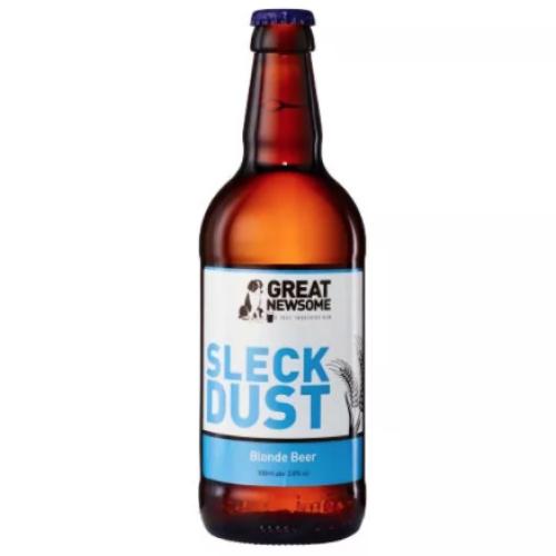 Sleck Dust 3.8% abv Blonde beer.