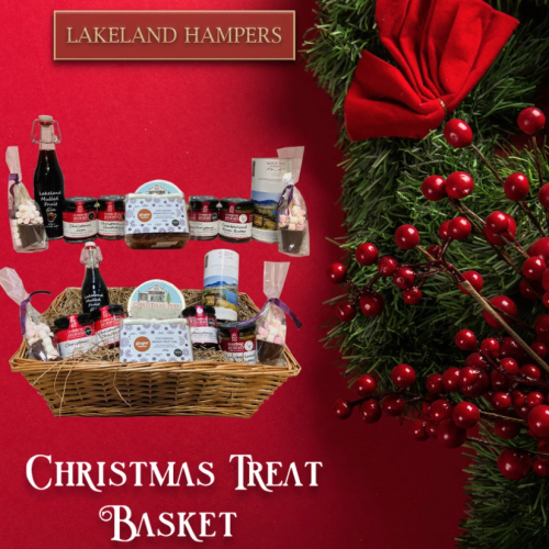 Christmas Treats Basket