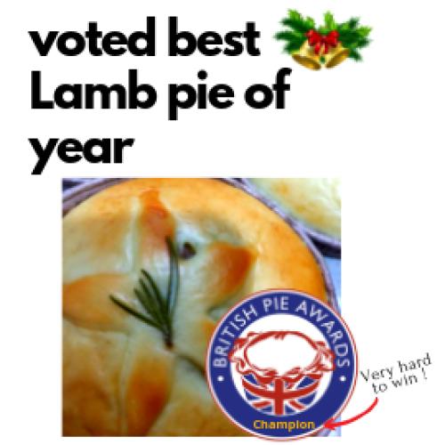 🎄 Christmas - 🐑 Lamb, Apricot & Chestnut Piewich 🎅