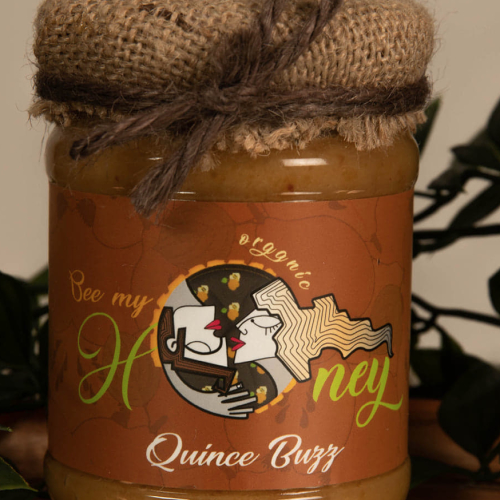 Raw honey with Quince
