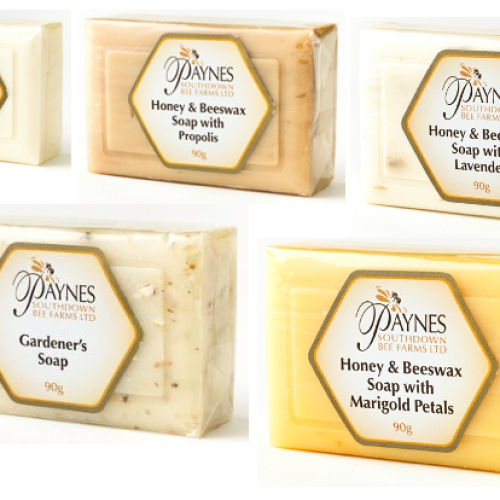 Paynes Honey and Beeswax Natural Soaps - 90g