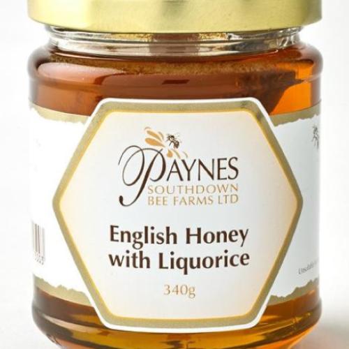 Paynes English Honey with Liquorice