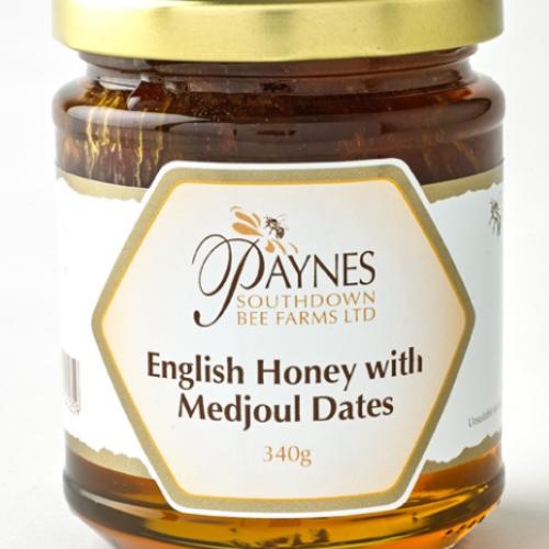 Paynes English Honey with Medjool Dates