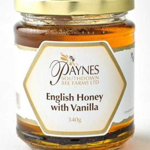 Paynes English Honey with Vanilla Pod
