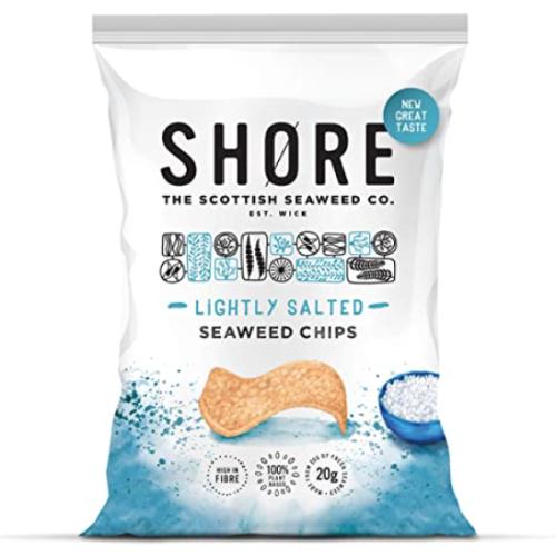 Shore Sea Salt Seaweed chips 12 x 80g