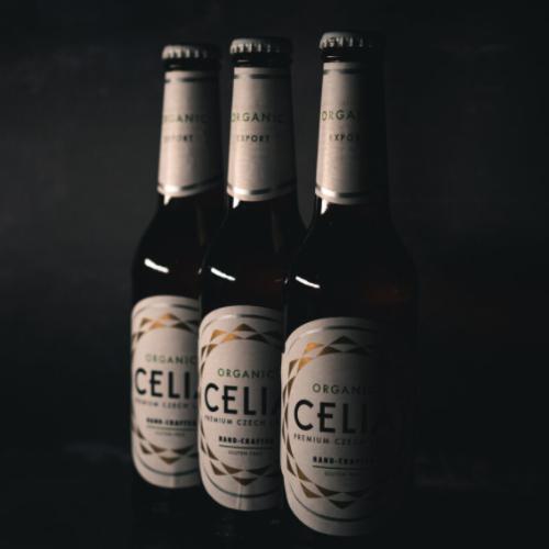 Celia Organic Gluten Free Czech Lager 24 x 330ml Case