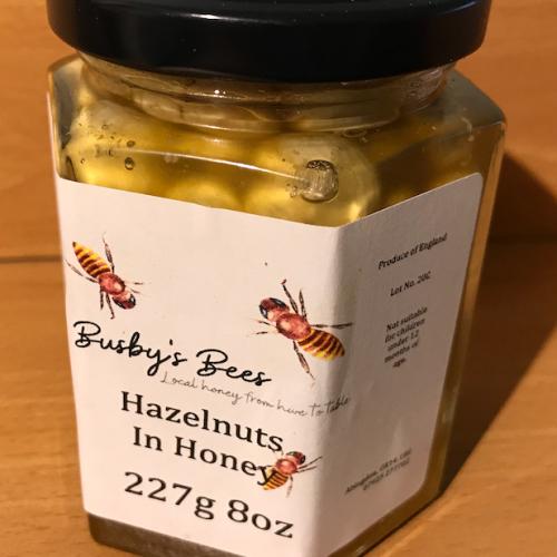 Hazelnuts in Honey