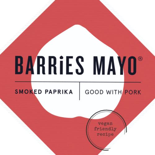 Barries Smoked Paprika Vegan Mayonnaise