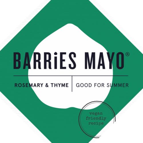 Barries Rosemary & Thyme Vegan Mayonnaise
