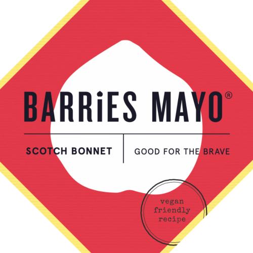 Barries Scotch Bonnet Vegan Mayonnaise