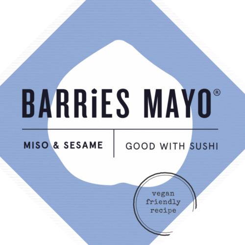 Barries Miso & Sesame Vegan Mayonnaise