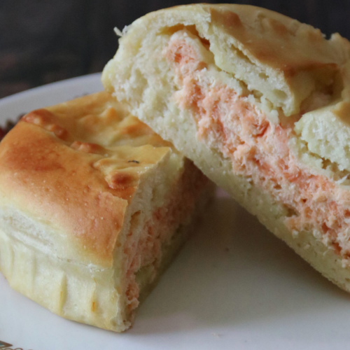 Russian Salmon & Cream Cheese Gourmet Pie