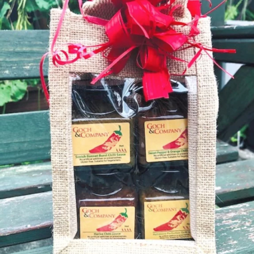 Gift Set - Chilli Sauces (Hot to Mild)
