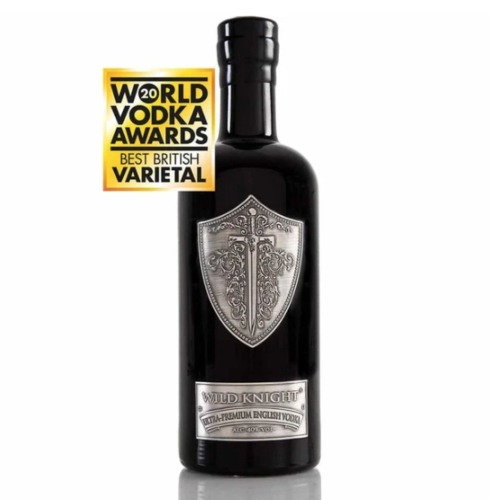 Wild Knight® Ultra-Premium English Vodka, 70cl