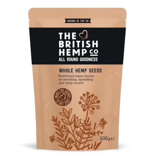 Whole Hemp Seeds