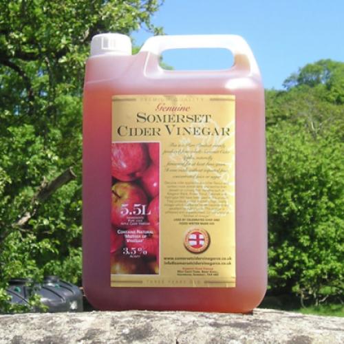 5.5L Somerset Fermented Cider Vinegar