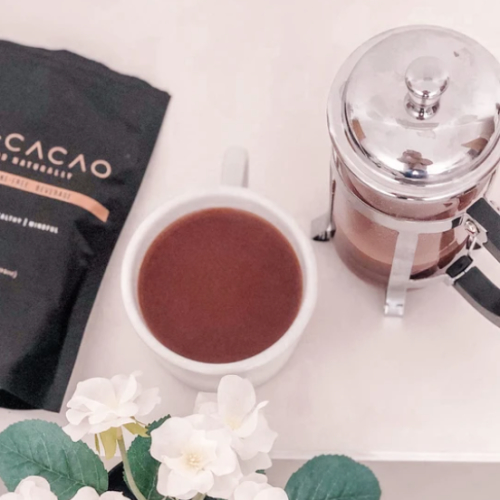 Bare Cacao Starter kit with 1 cup cafetiere.