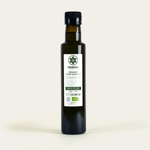 British Grown Organic Hemp Seed Oil