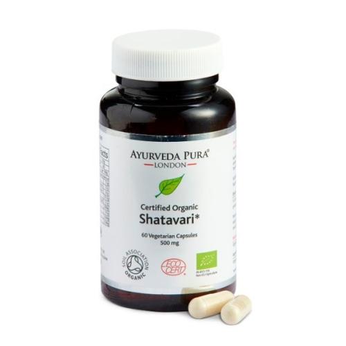 Organic Shatavari Herbal Capsules