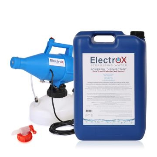 Electrox 25 litre + F450 Fogging Machine + Free dispenser tap!