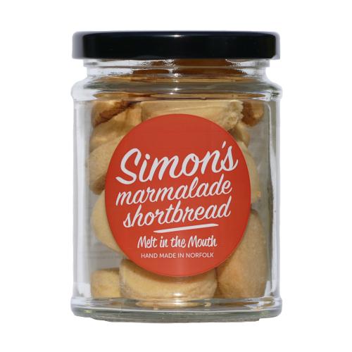 Simon's Marmalade Shortbread 90g