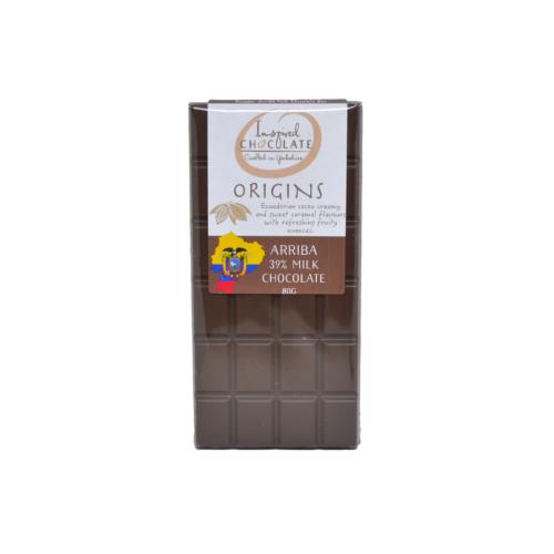 Single Origin Milk Chocolate Bar - Arriba