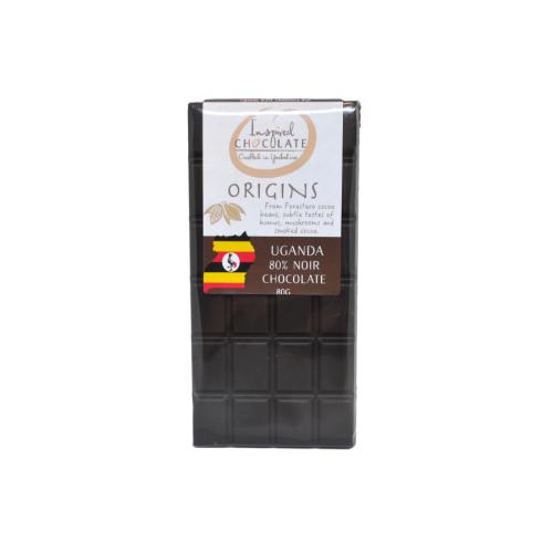 Single Origin Dark Chocolate Bar - Uganda 80%