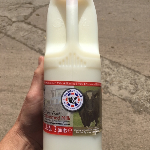 Pasteurised Skimmed Milk (non homogenised)