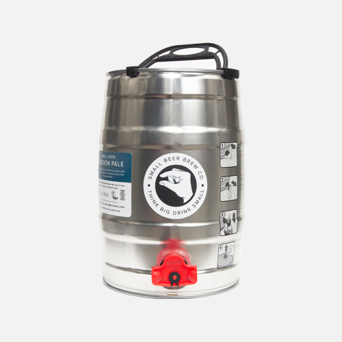 Small Beer 5L Mini Keg – Session Pale