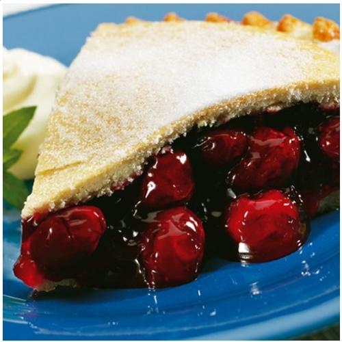 Large Black Cherry Pie